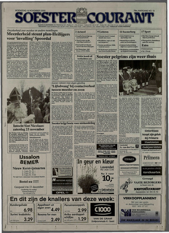 Soester Courant 2000-11-15