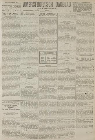 Amersfoortsch Dagblad / De Eemlander 1922-11-27
