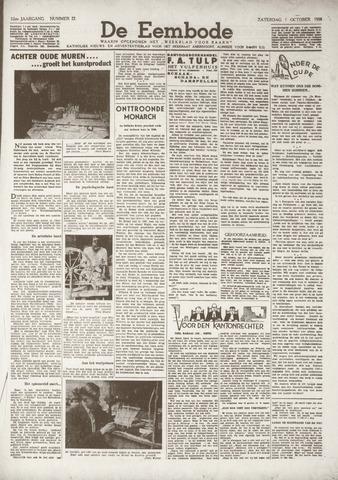 De Eembode 1938-10-01