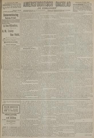 Amersfoortsch Dagblad / De Eemlander 1919-04-02