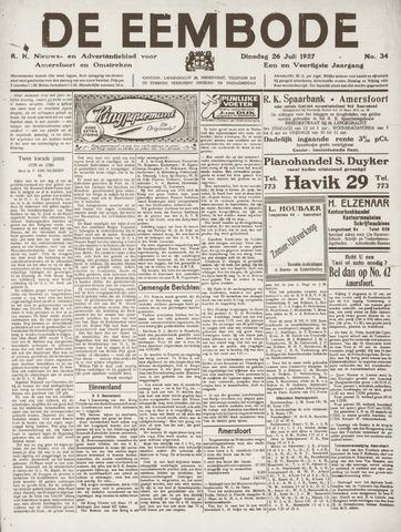 De Eembode 1927-07-26