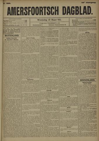 Amersfoortsch Dagblad 1912-03-20
