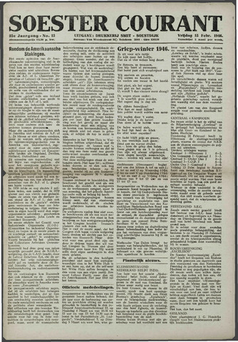 Soester Courant 1946-02-15