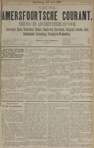 Nieuwe Amersfoortsche Courant 1881-06-29