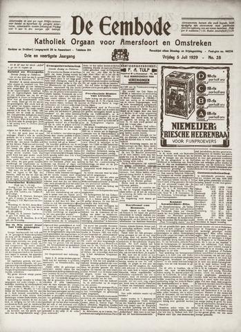 De Eembode 1929-07-05