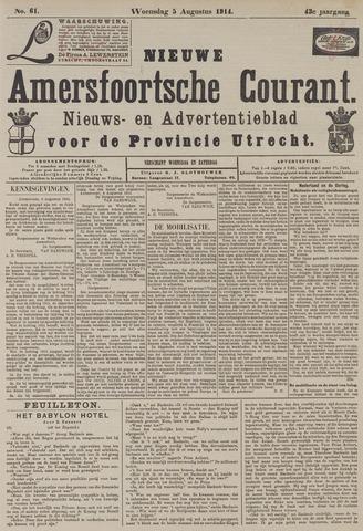 Nieuwe Amersfoortsche Courant 1914-08-05