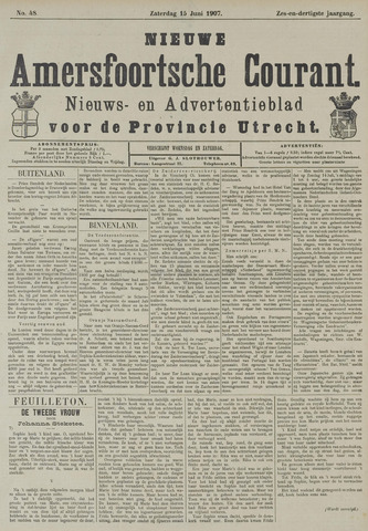 Nieuwe Amersfoortsche Courant 1907-06-15