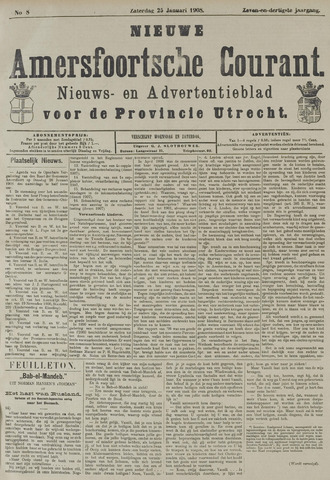 Nieuwe Amersfoortsche Courant 1908-01-25