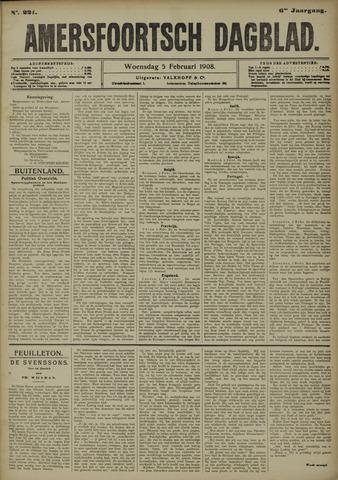 Amersfoortsch Dagblad 1908-02-05