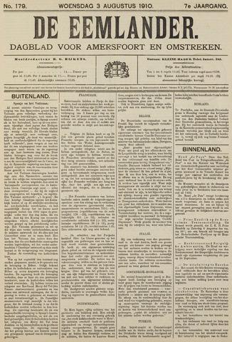 De Eemlander 1910-08-03