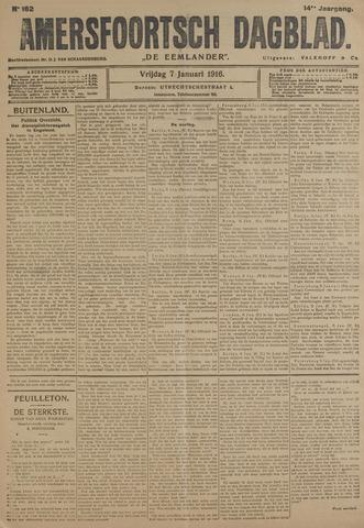 Amersfoortsch Dagblad / De Eemlander 1916-01-07