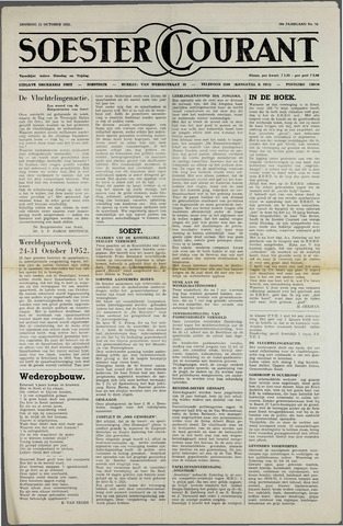 Soester Courant 1952-10-21
