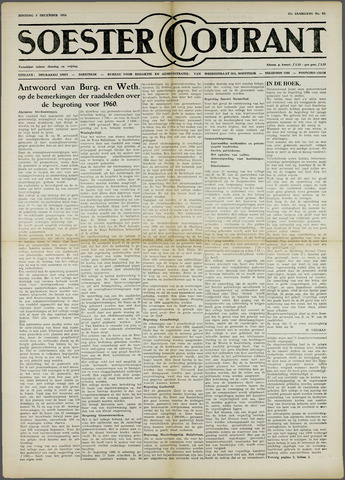Soester Courant 1959-12-08