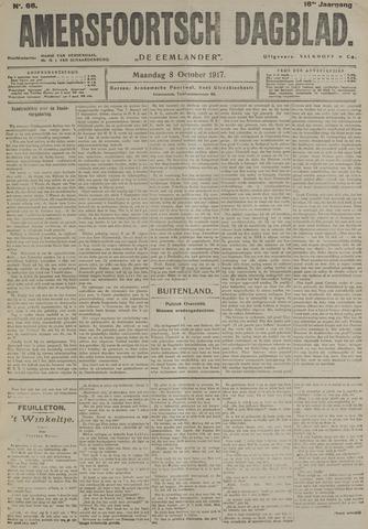 Amersfoortsch Dagblad / De Eemlander 1917-10-08