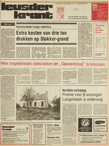 Leusder Krant 1981-11-12