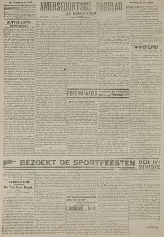 Amersfoortsch Dagblad / De Eemlander 1920-06-29