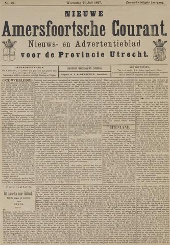 Nieuwe Amersfoortsche Courant 1897-07-21
