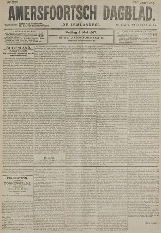 Amersfoortsch Dagblad / De Eemlander 1917-05-04
