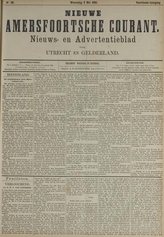 Nieuwe Amersfoortsche Courant 1885-05-06
