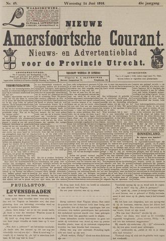 Nieuwe Amersfoortsche Courant 1916-06-14