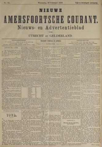 Nieuwe Amersfoortsche Courant 1896-02-19