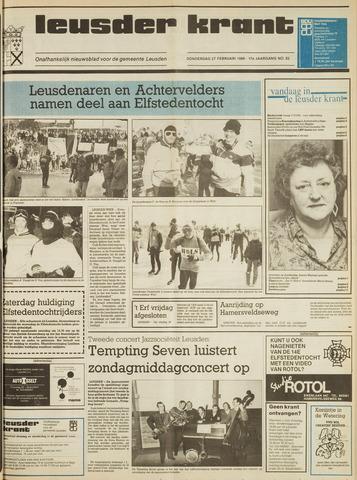 Leusder Krant 1986-02-27