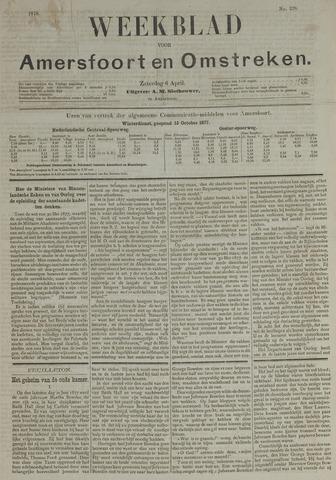 Weekblad voor Amersfoort en Omstreken 1878-04-06