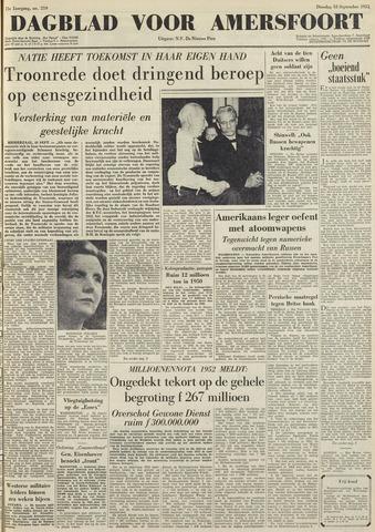 Dagblad voor Amersfoort 1951-09-18