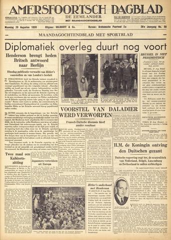 Amersfoortsch Dagblad / De Eemlander 1939-08-28