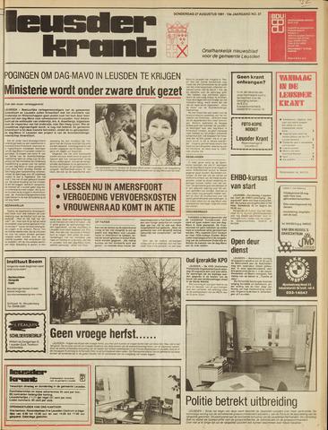 Leusder Krant 1981-08-27