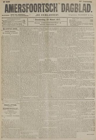 Amersfoortsch Dagblad / De Eemlander 1917-03-29