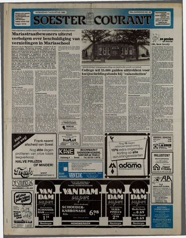 Soester Courant 1985-08-07