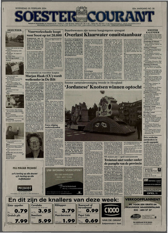 Soester Courant 2004-02-25