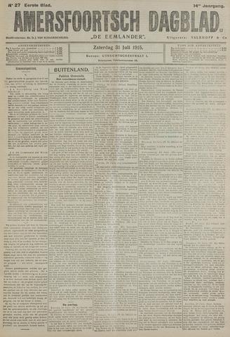 Amersfoortsch Dagblad / De Eemlander 1915-07-31