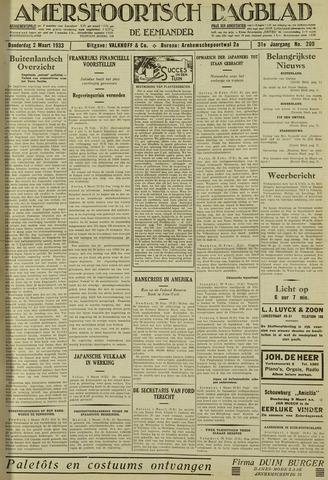 Amersfoortsch Dagblad / De Eemlander 1933-03-02
