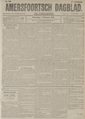 Amersfoortsch Dagblad / De Eemlander 1913-02-03