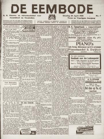 De Eembode 1928-04-24