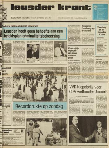 Leusder Krant 1985-01-15