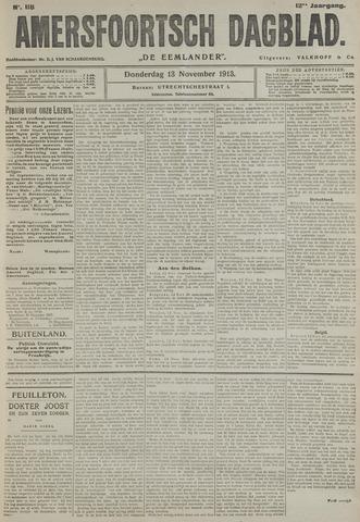 Amersfoortsch Dagblad / De Eemlander 1913-11-13