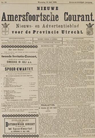 Nieuwe Amersfoortsche Courant 1898-07-13
