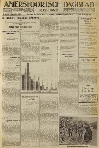 Amersfoortsch Dagblad / De Eemlander 1932-08-01