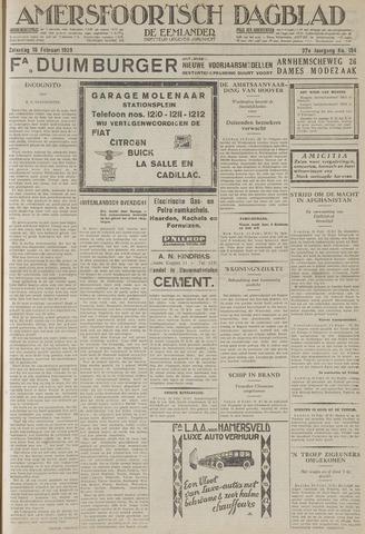 Amersfoortsch Dagblad / De Eemlander 1929-02-16