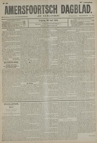 Amersfoortsch Dagblad / De Eemlander 1915-07-23