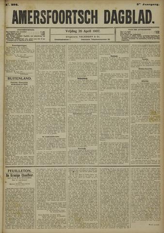 Amersfoortsch Dagblad 1907-04-26