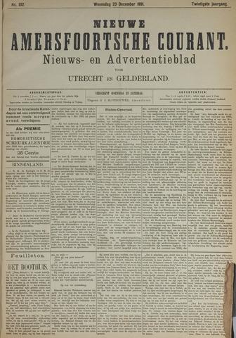 Nieuwe Amersfoortsche Courant 1891-12-23