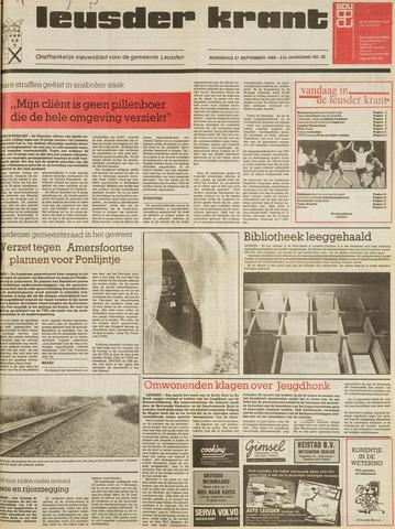 Leusder Krant 1989-09-27