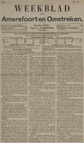 Weekblad voor Amersfoort en Omstreken 1873-05-31