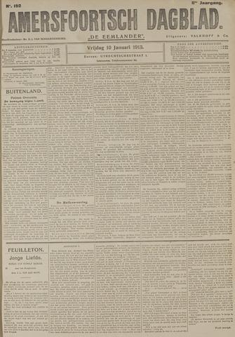 Amersfoortsch Dagblad / De Eemlander 1913-01-10