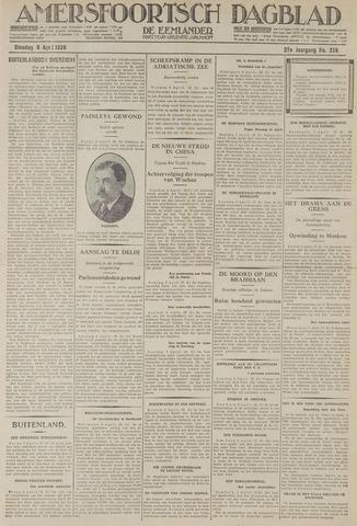 Amersfoortsch Dagblad / De Eemlander 1929-04-09