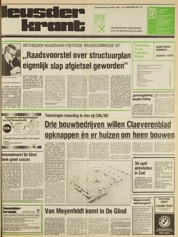 Leusder Krant 1982-04-22
